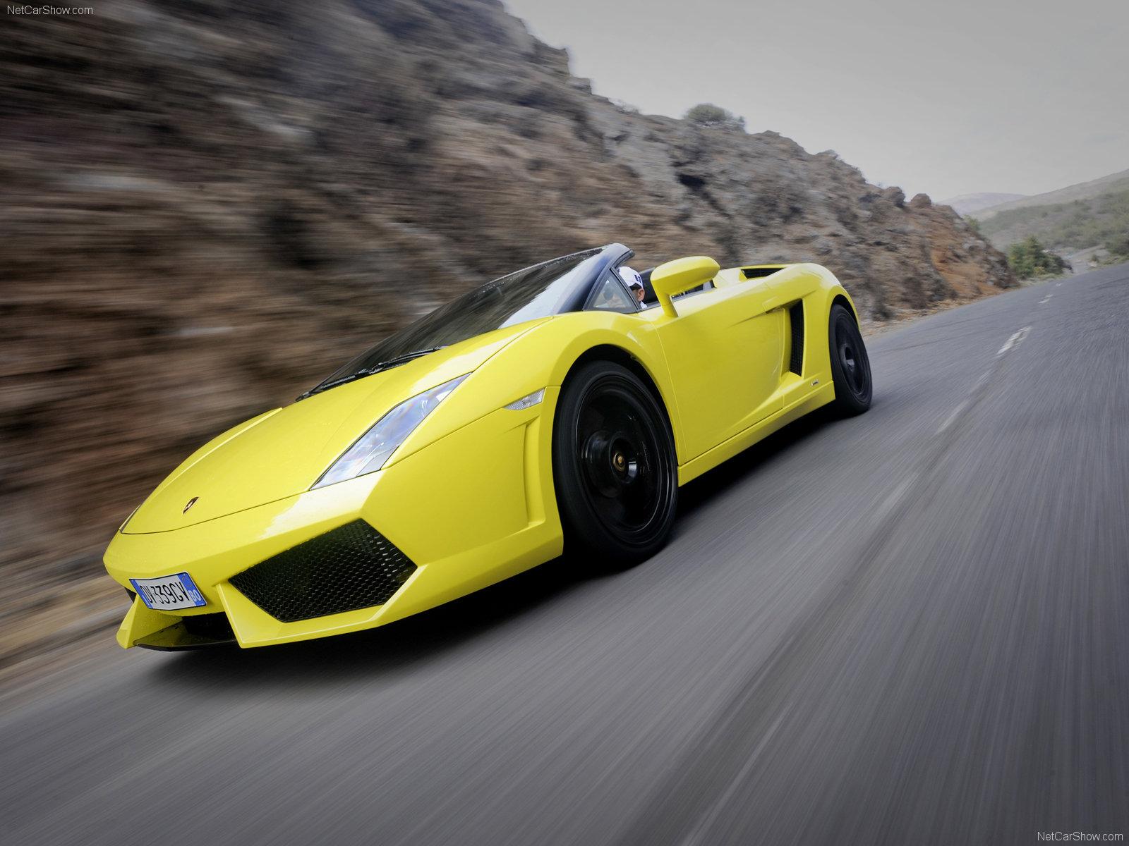 You can vote for this Lamborghini Gallardo LP5604 Spyder photo