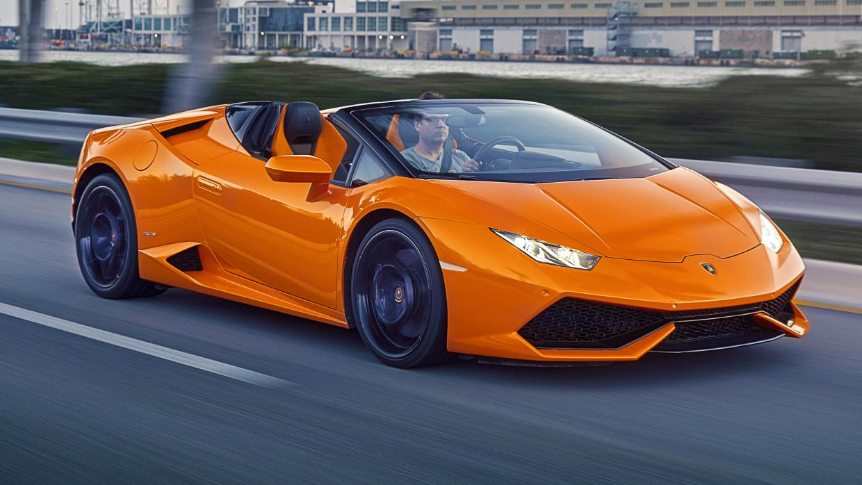 lamborghini huracan spyder photos photogallery with 6 pics. Black Bedroom Furniture Sets. Home Design Ideas