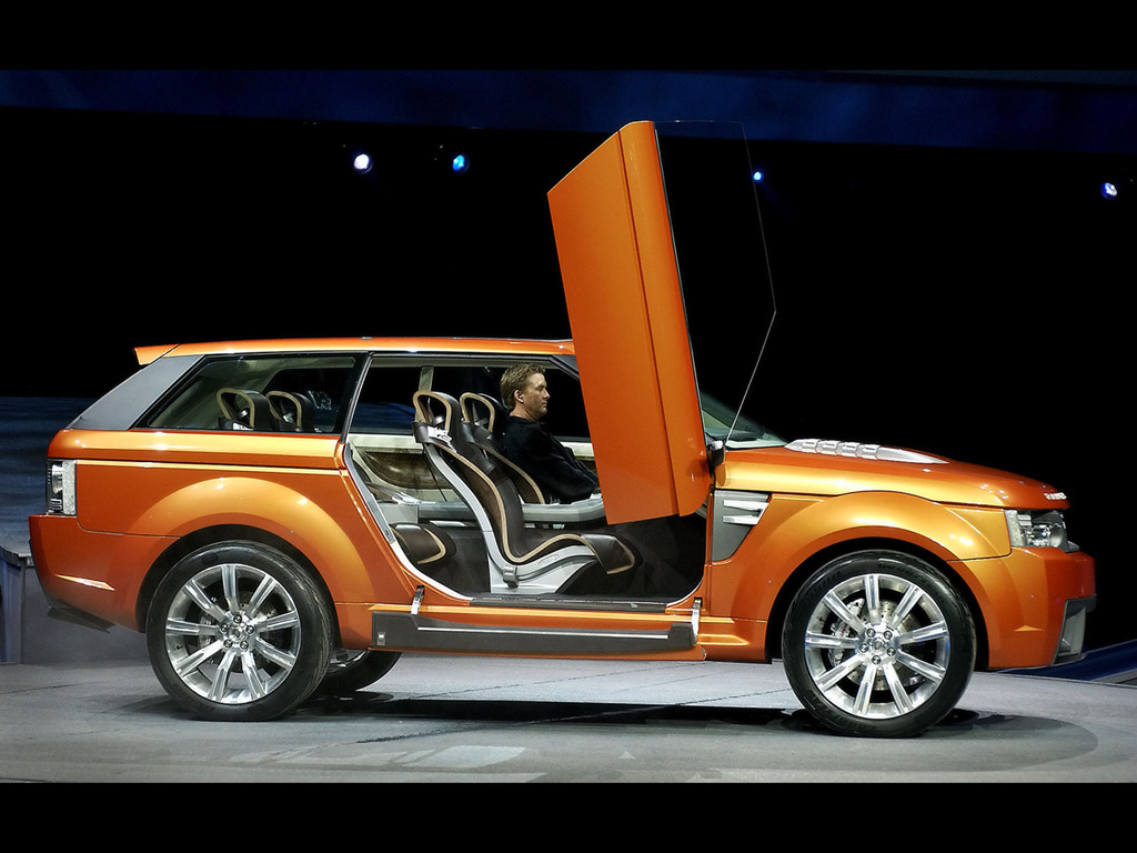 Land Rover Range Stormer Photos Photogallery With 7 Pics