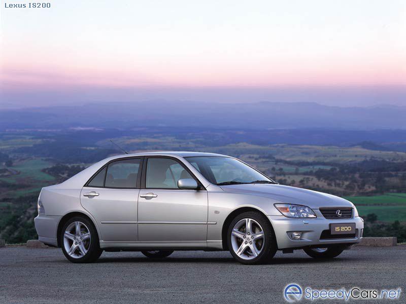 Lexus IS 200.  Каталог автом…
