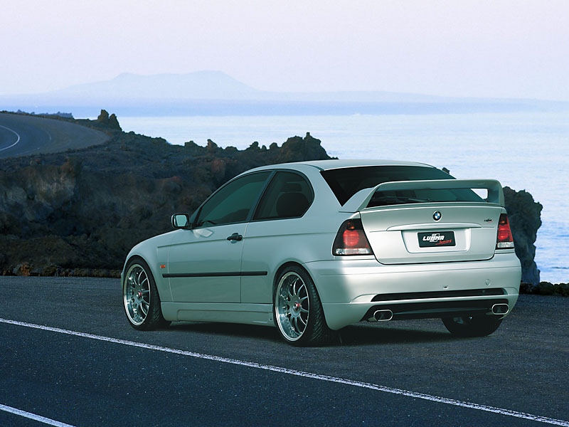 lumma bmw e46 compact clr photos photogallery with 2 pics. Black Bedroom Furniture Sets. Home Design Ideas