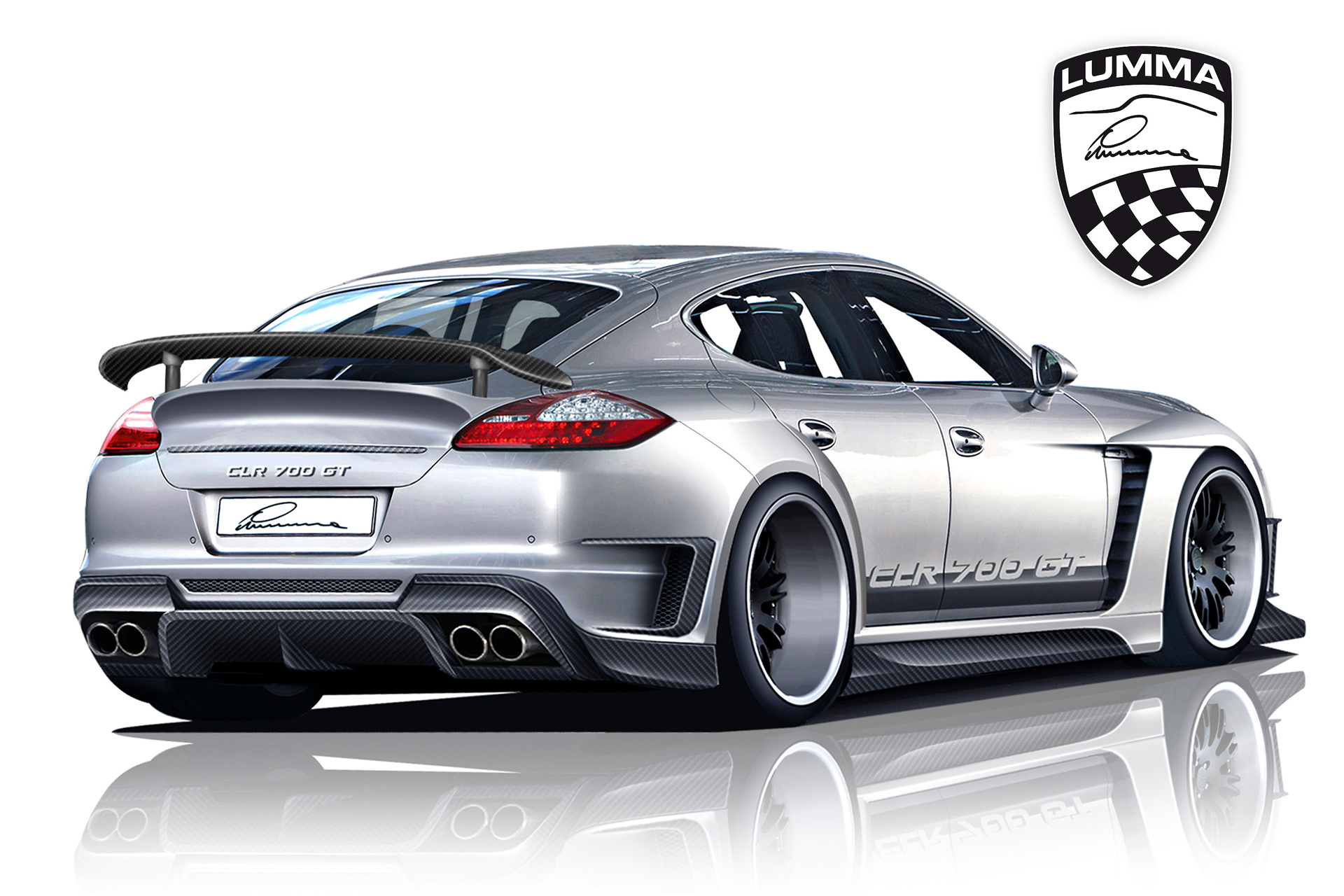 You can vote for this Lumma Porsche Panamera CLR 700 GT photo