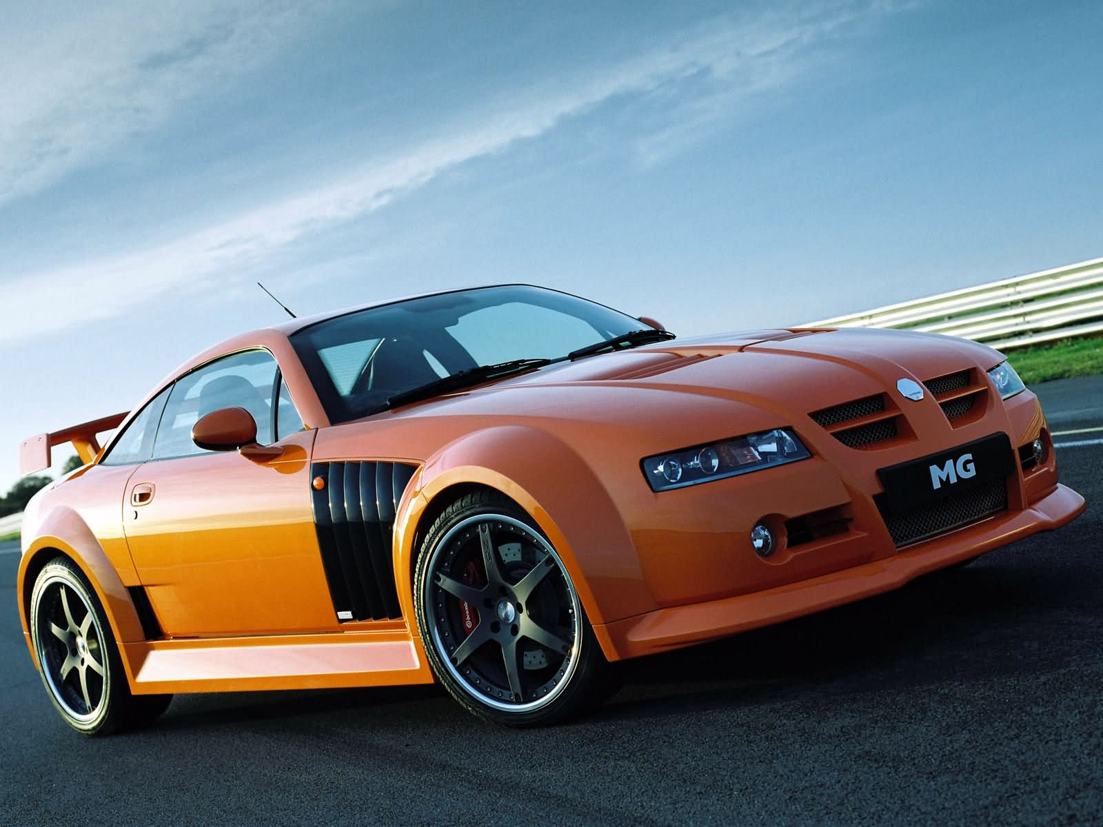 MG XPower SV-R photos - PhotoGallery with 10 pics| CarsBase.com