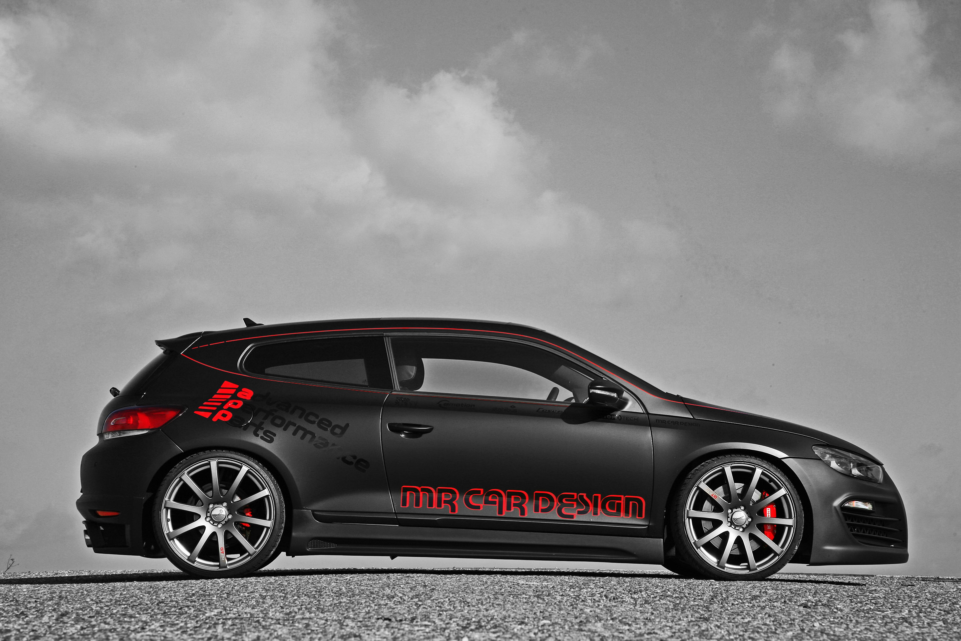 mr car design vw scirocco black rocco photos photogallery with 7 pics. Black Bedroom Furniture Sets. Home Design Ideas