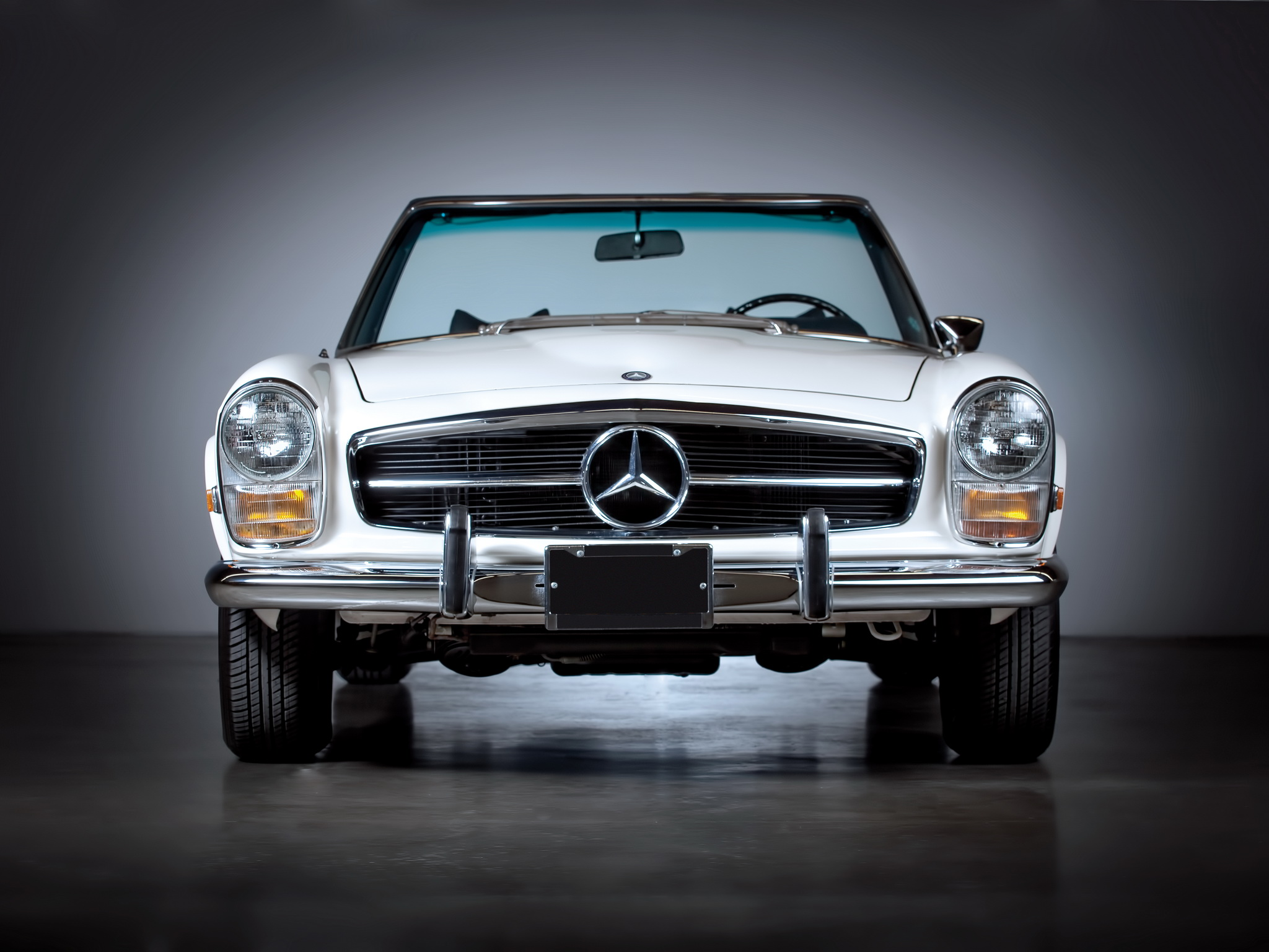 Mercedes Benz 280 Sl Roadster Photos Photogallery With