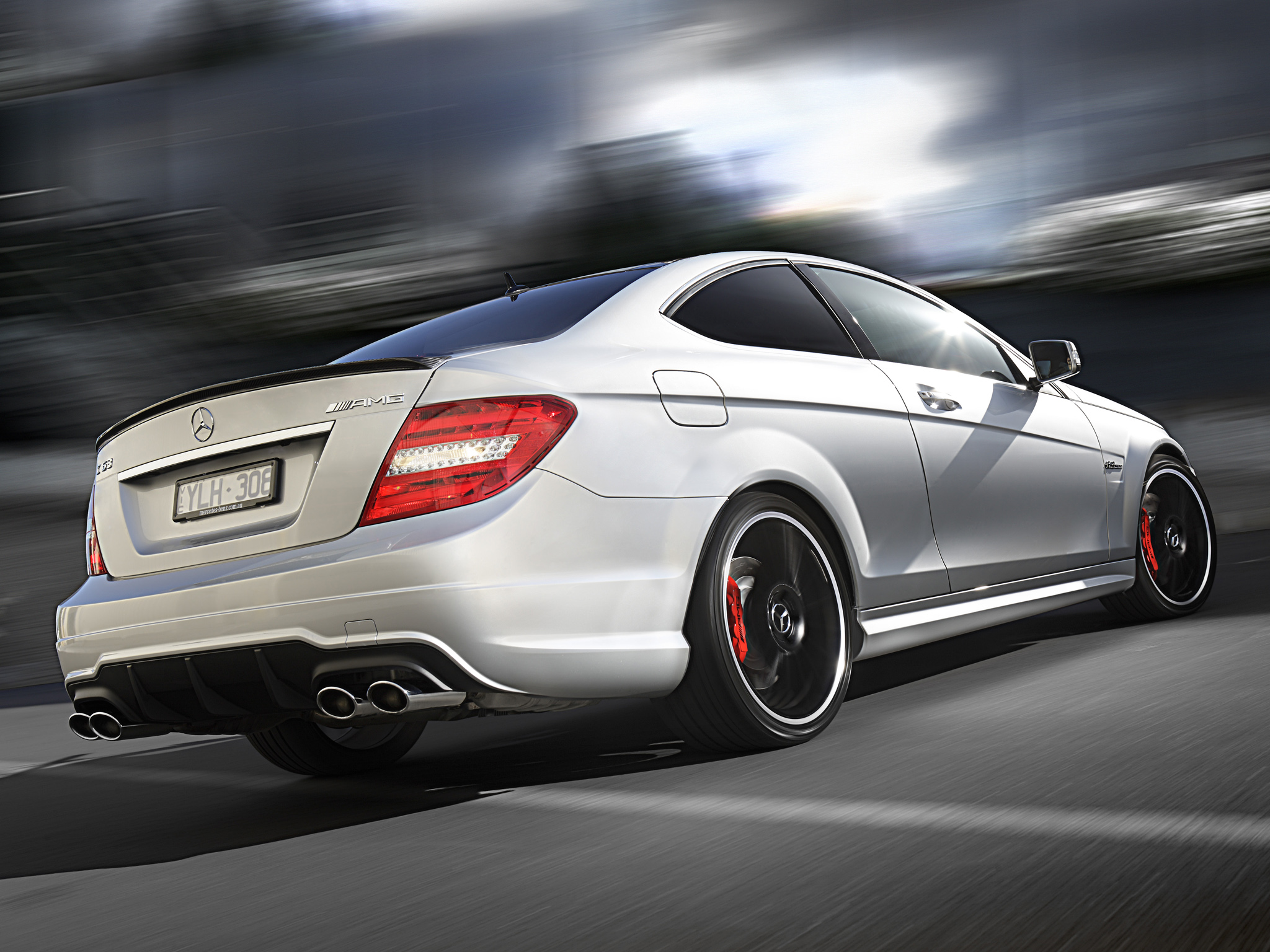 Mercedes benz c63 amg coupe picture 96462 mercedes for C63 mercedes benz amg