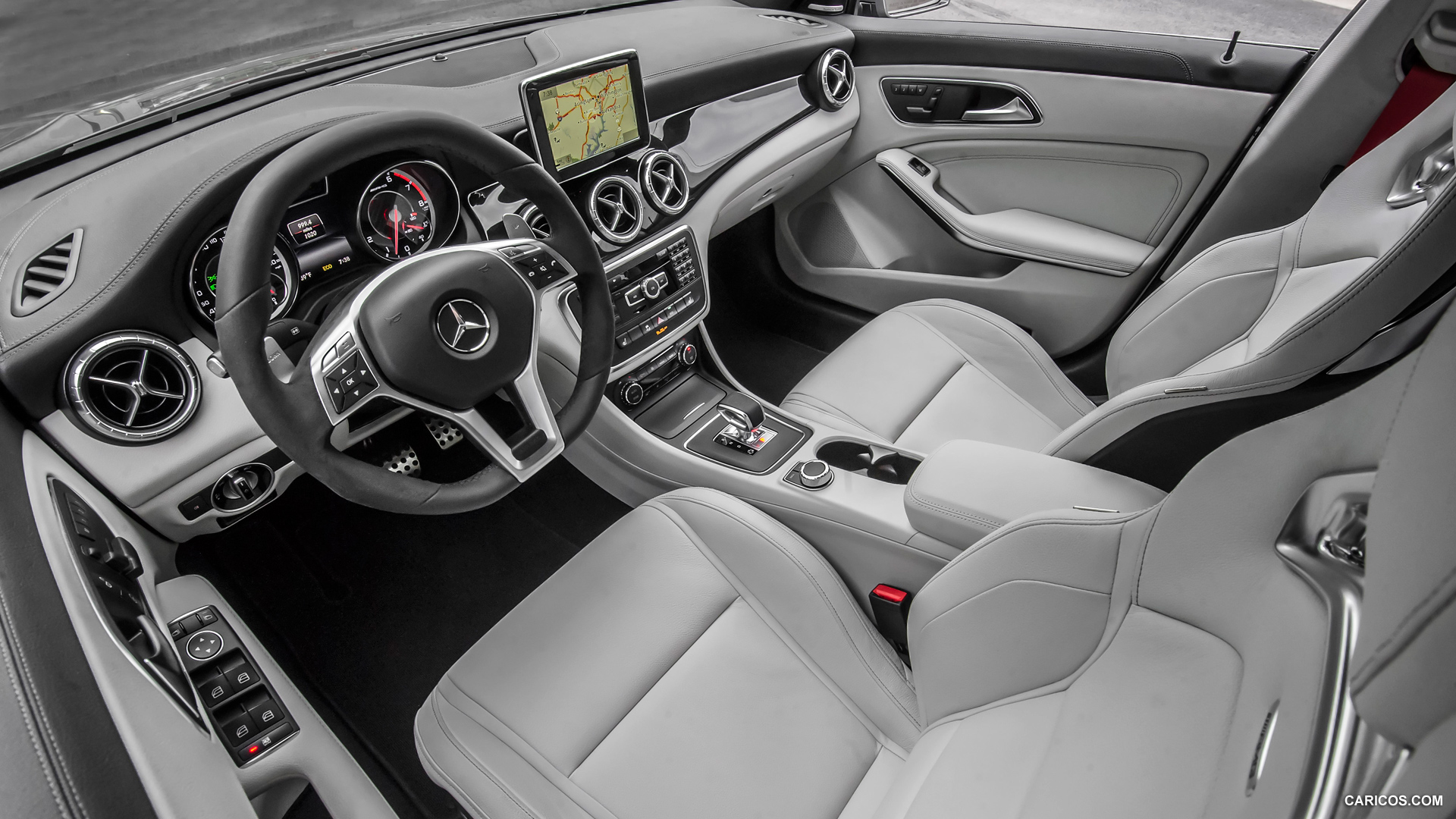 mercedes benz cla class us version photos photo gallery page 3. Black Bedroom Furniture Sets. Home Design Ideas