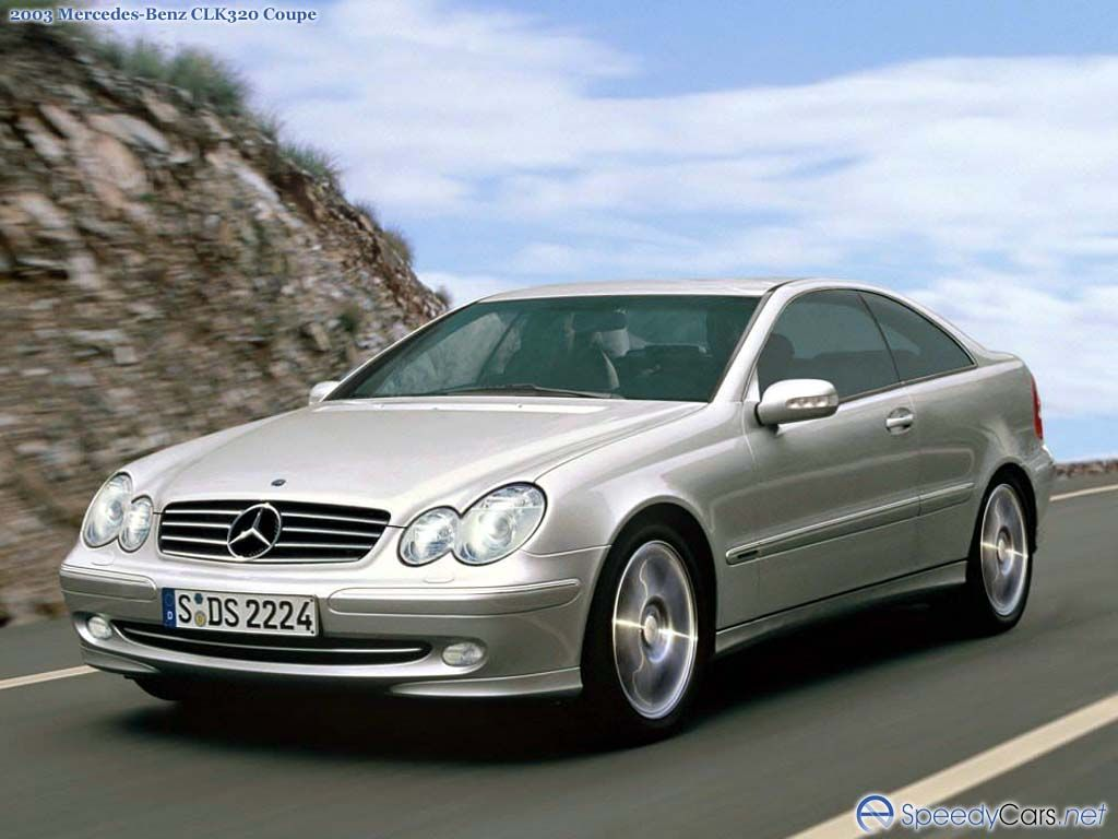 mercedes benz clk w209