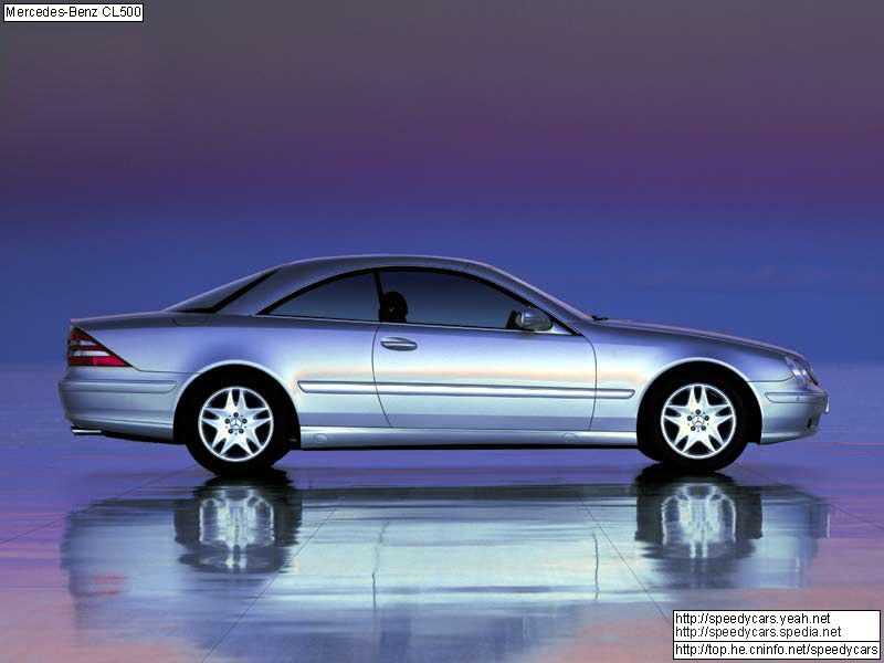 Mercedes-Benz CL-Class W215 photo 4523