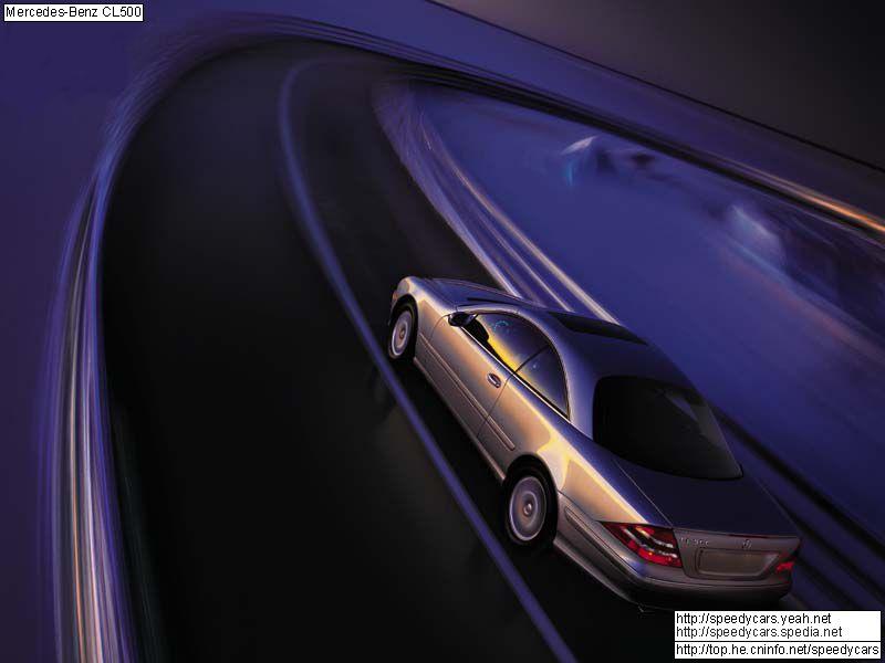 Mercedes-Benz CL-Class W215 photo 4525