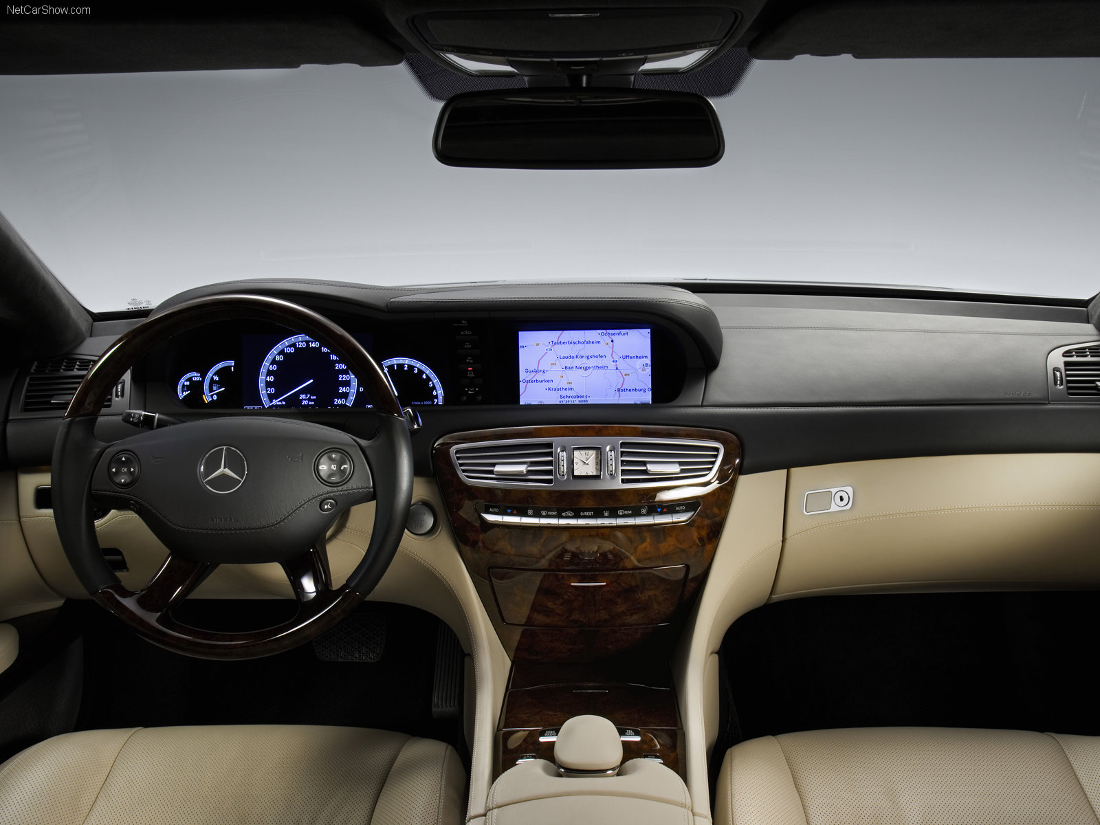 Mercedes Benz Cl Class W216 Photos Photogallery With 25