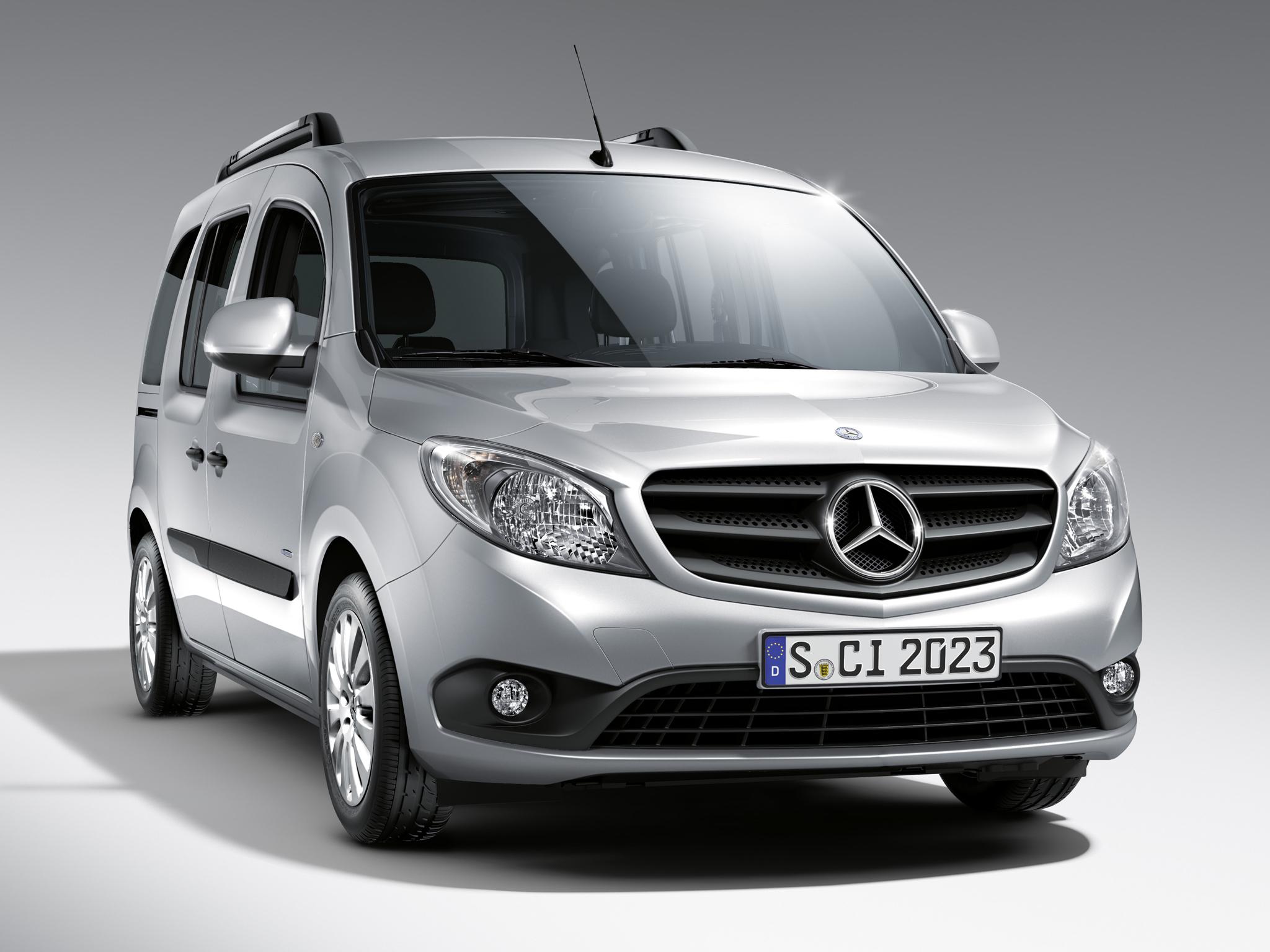 Mercedes Benz Citan Photos Photogallery With 14 Pics