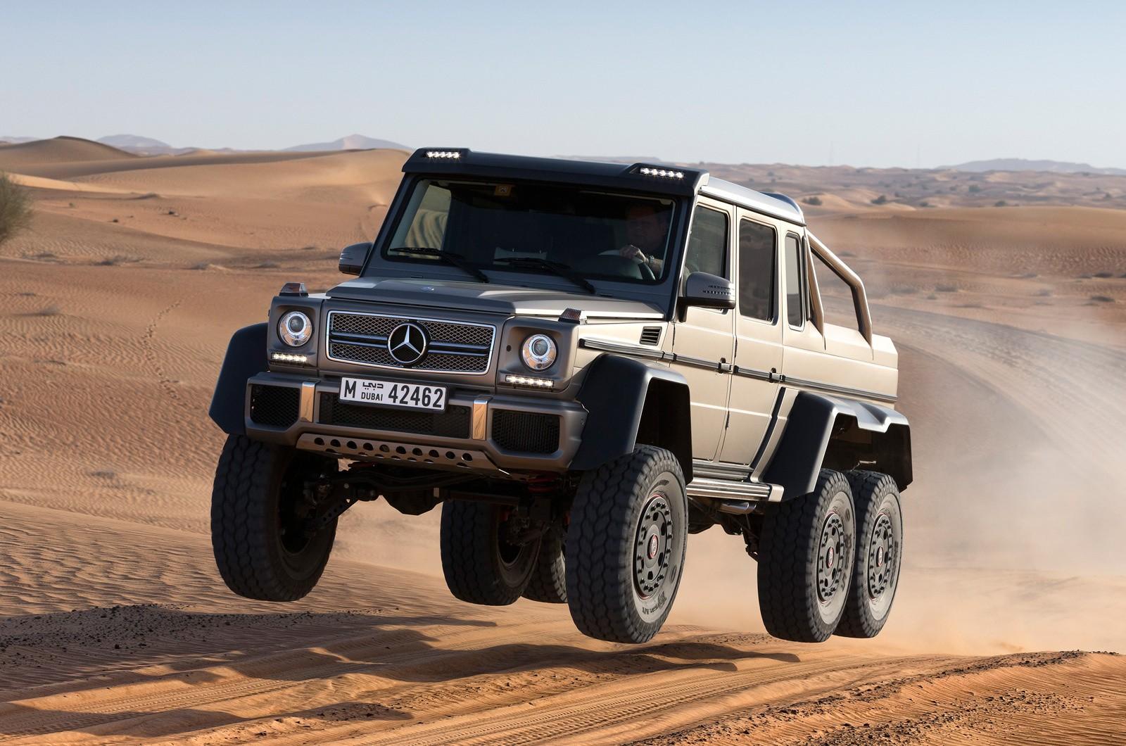 Mercedes-Benz G 63 AMG 6x6 photo 171468