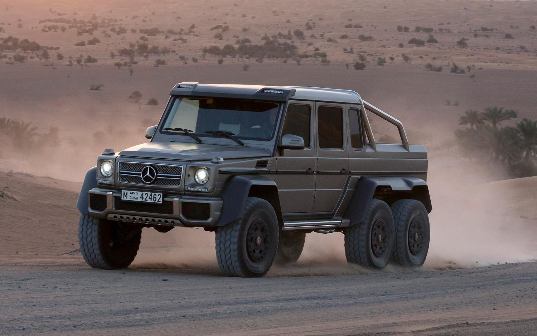 Mercedes-Benz G 63 AMG 6x6 photo 171471