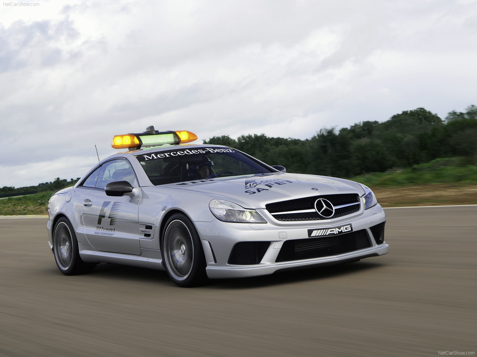 mercedes benz sl63 amg f1 safety car picture 63071