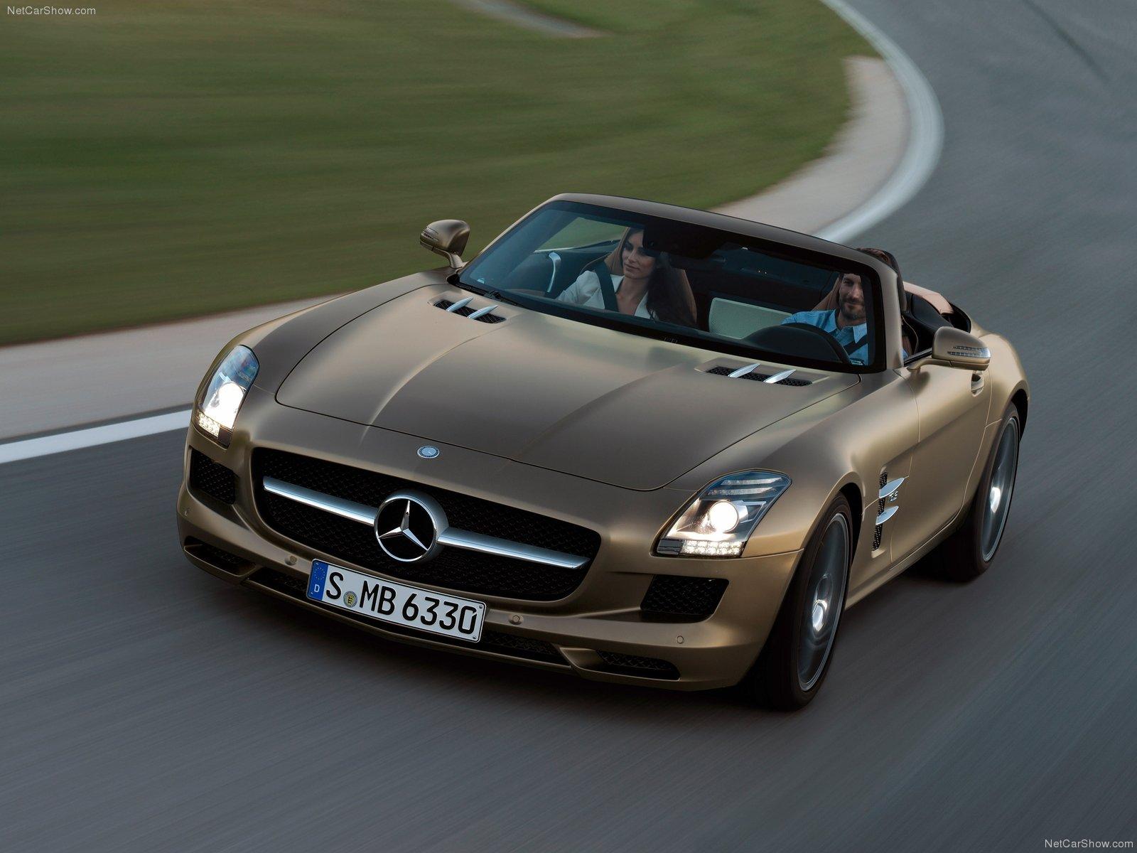 Mercedes-Benz SLS AMG Roadster photo 84730