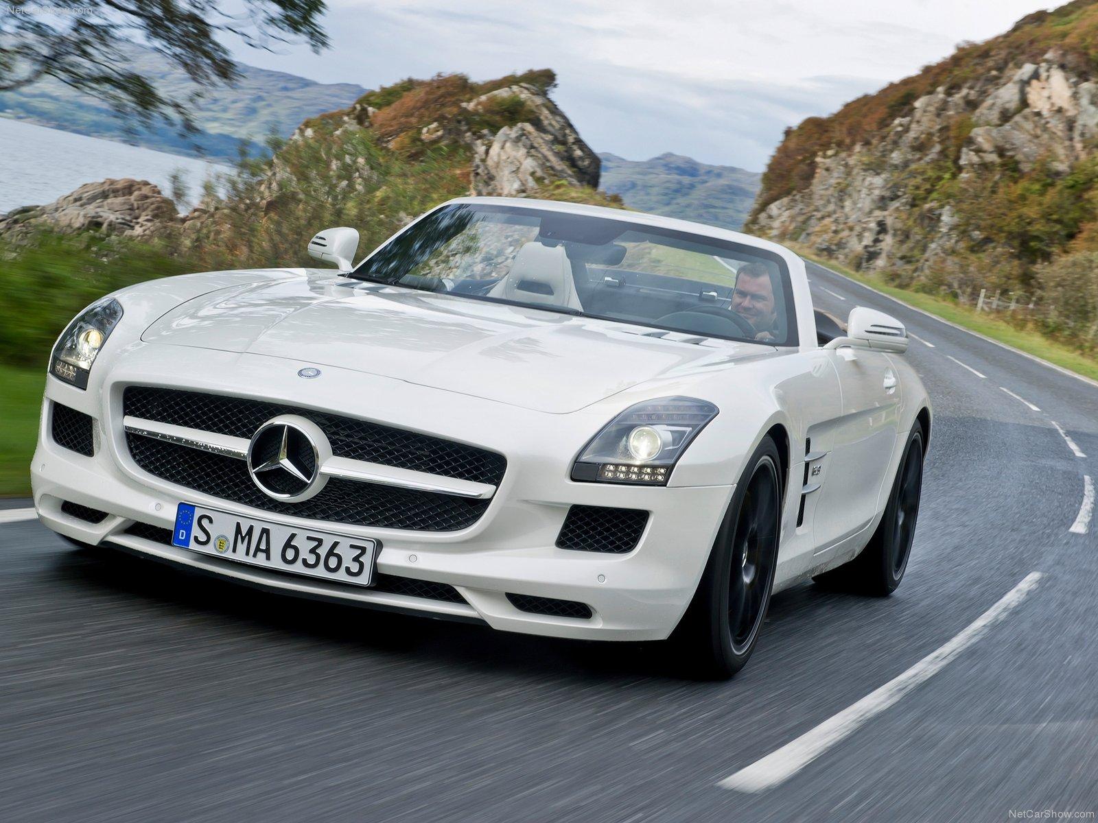 Mercedes-Benz SLS AMG Roadster photo 84732