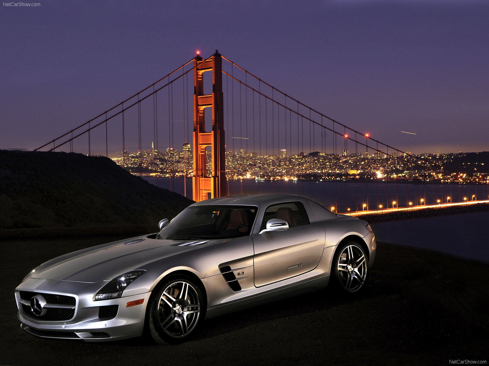 You can vote for this Mercedes-Benz SLS AMG photo
