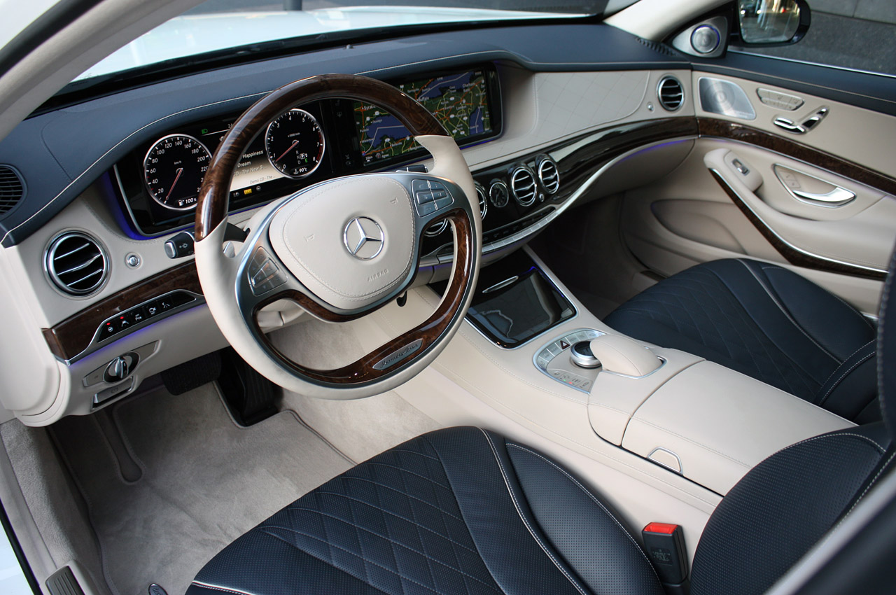 new mercedes benz s class pictures 2014 mercedes benz s class prototype interior comand - Mercedes Benz 2014 S Class Interior