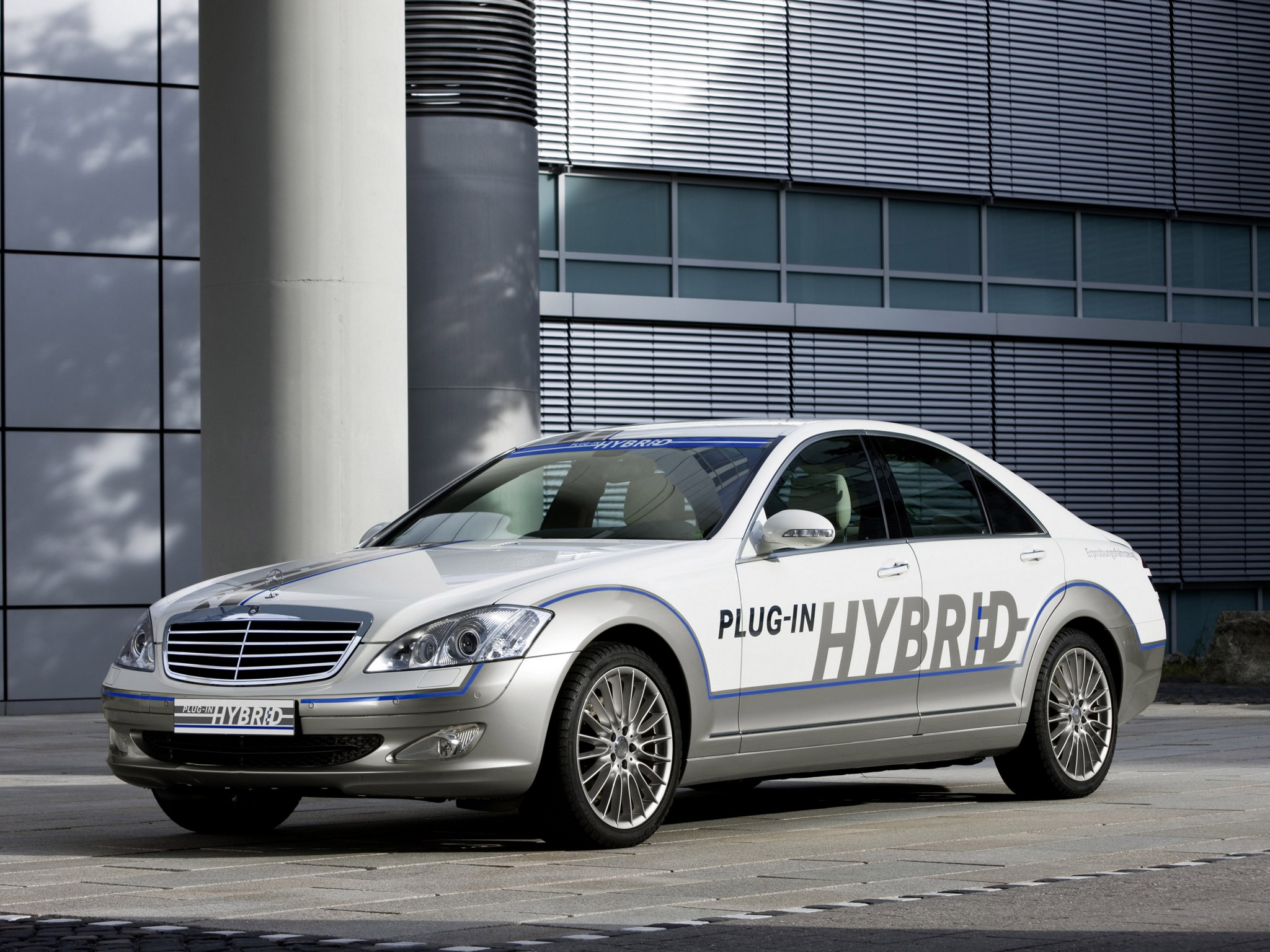 Mercedes-Benz S400 Hybrid. Третья стихия | 5koleso.ru