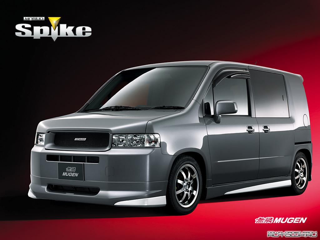 Mugen Honda Mobilio Spike Photos Photogallery With 3
