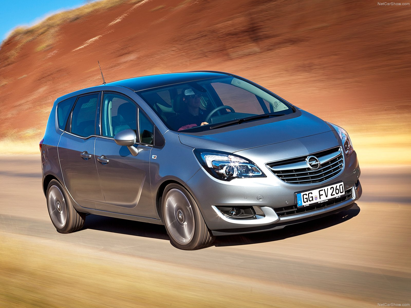 Opel meriva photos photogallery with 64 pics carsbase new opel meriva pictures sciox Image collections