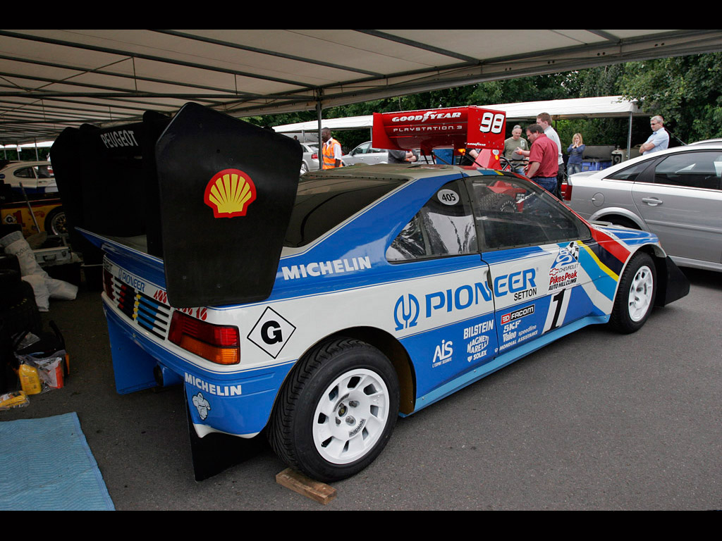 Peugeot 405 T16 GR Pikes Peak photos  PhotoGallery with 4 pics