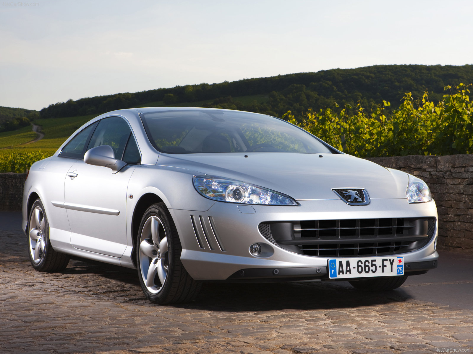 peugeot 407 coupe photos photogallery with 32 pics. Black Bedroom Furniture Sets. Home Design Ideas