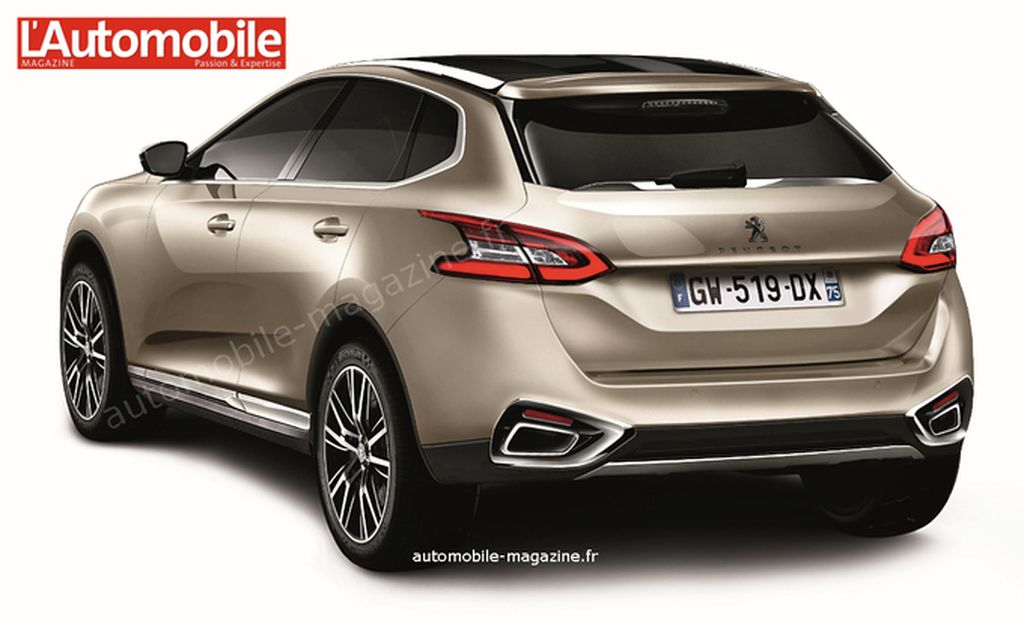 Peugeot 7008 Photos Photogallery With 2 Pics Carsbase Com