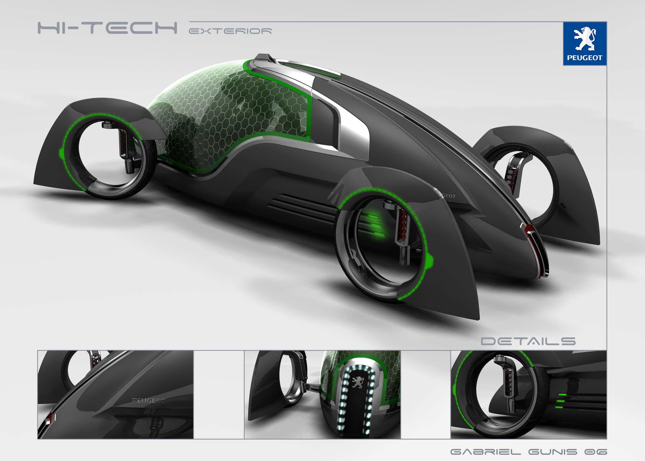peugeot hi tech photos photogallery with 4 pics. Black Bedroom Furniture Sets. Home Design Ideas