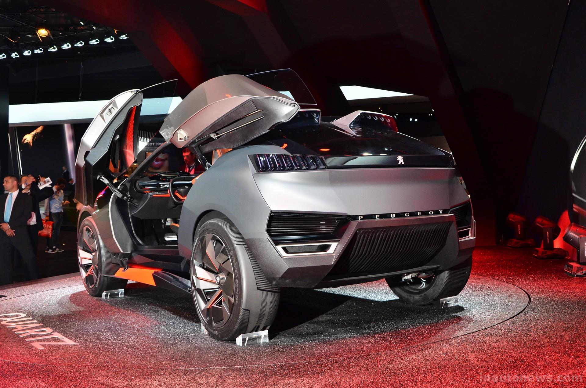 Peugeot Quartz Photos Photogallery With 15 Pics
