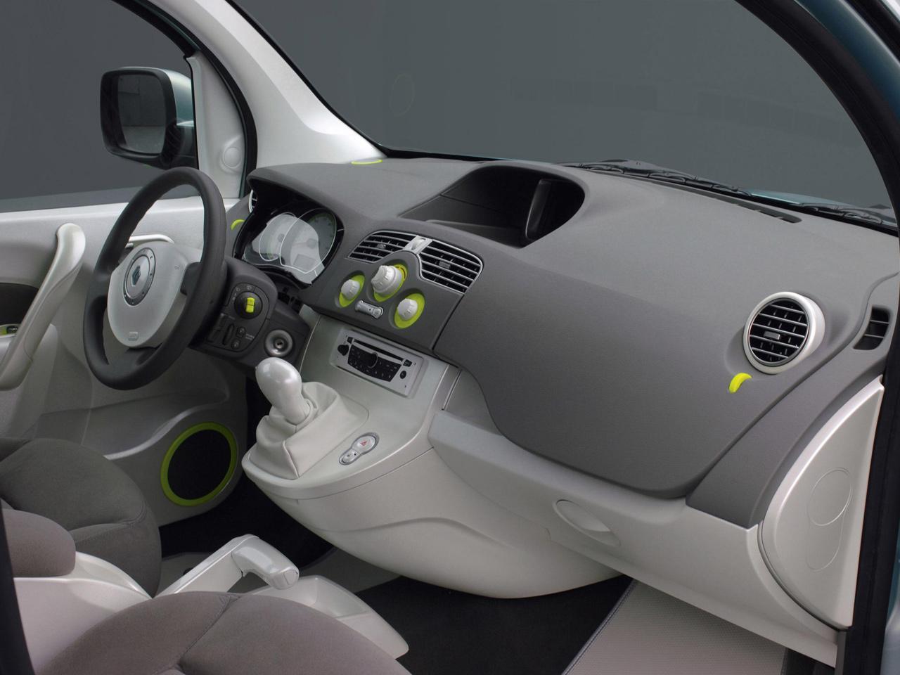 Компания Renault показала акционерам электрический фургон Kangoo (4