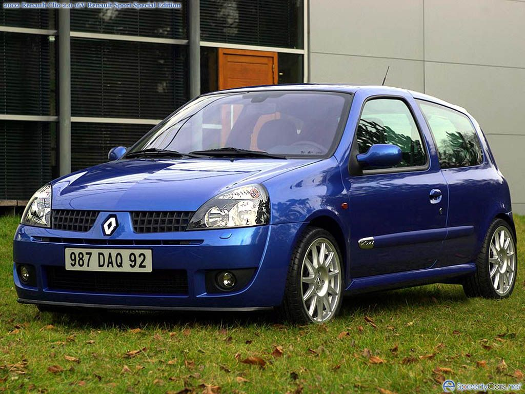 renault clio sport picture 1548 renault photo gallery. Black Bedroom Furniture Sets. Home Design Ideas