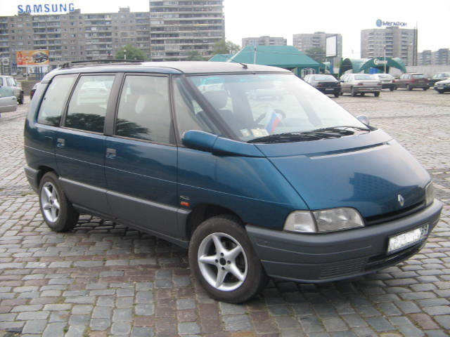 renault espace 2 photos photogallery with 15 pics. Black Bedroom Furniture Sets. Home Design Ideas