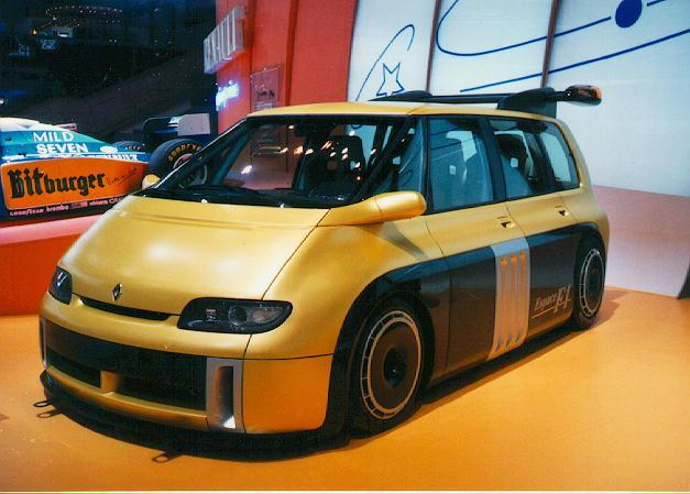 Renault Espace F1 Mp43 Pic 18422