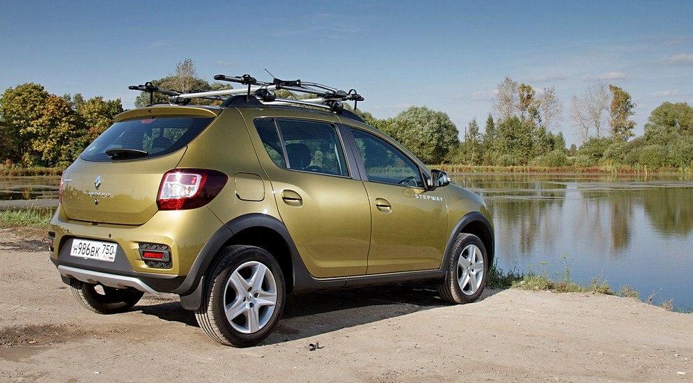 Renault sandero stepway foto