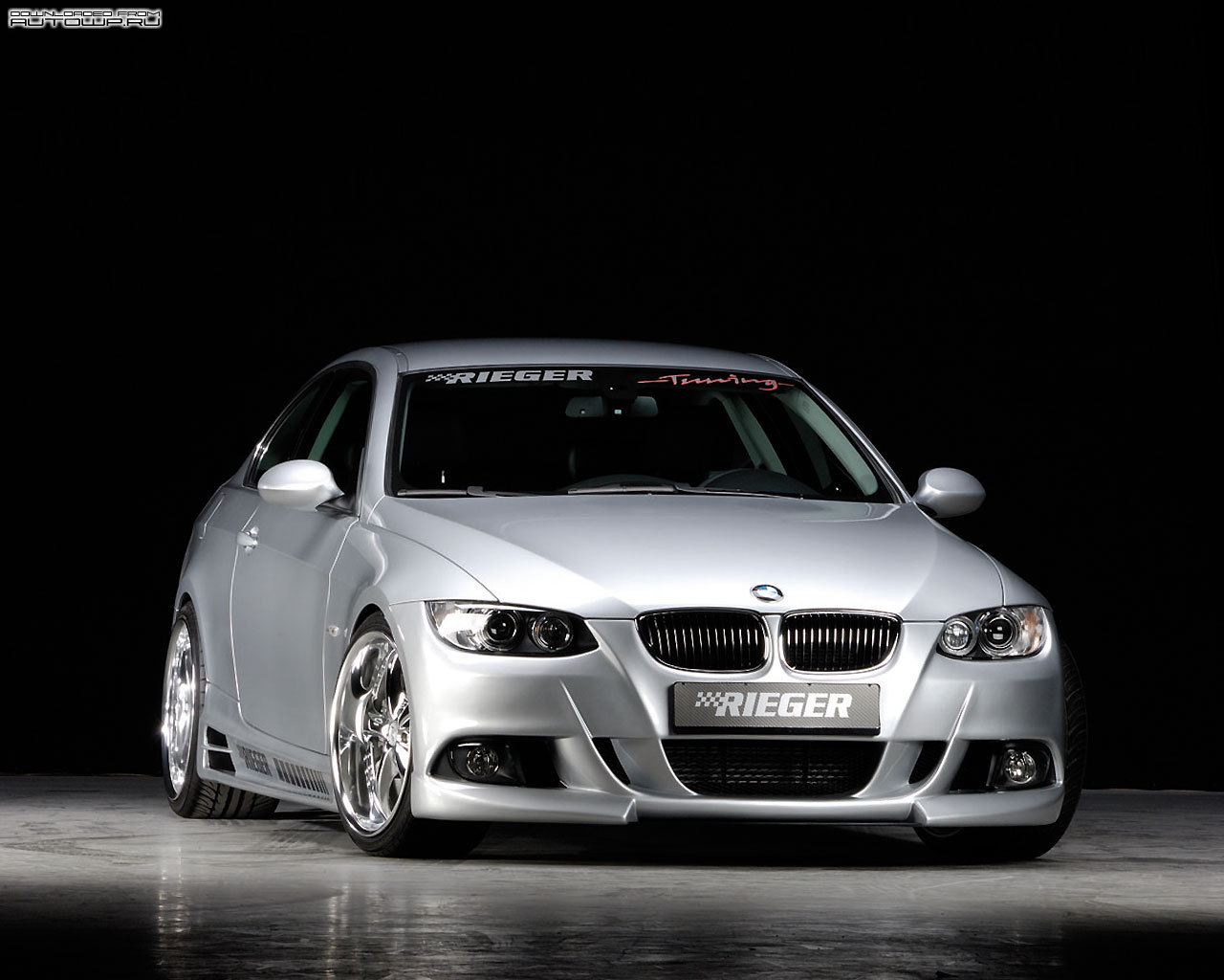 rieger bmw 3 series coupe e92 photos photogallery with 4 pics. Black Bedroom Furniture Sets. Home Design Ideas