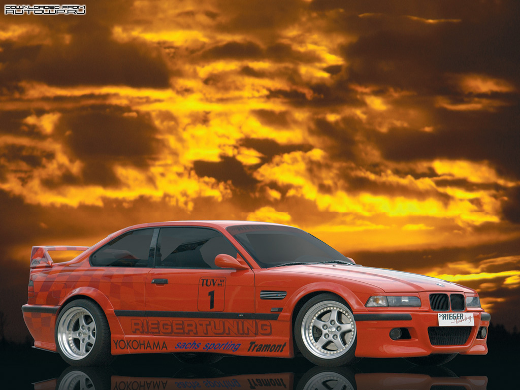 rieger bmw 3 series coupe e36 photos photogallery with 1 pics cars pictures. Black Bedroom Furniture Sets. Home Design Ideas