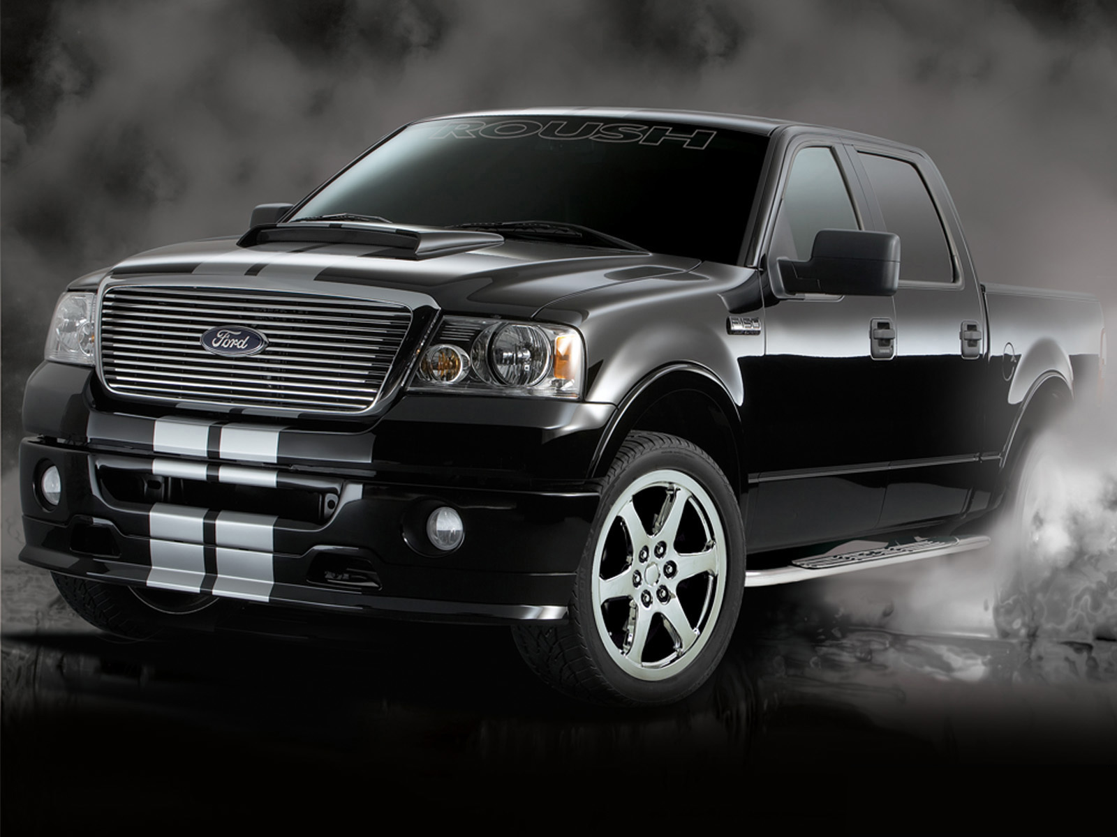 roush ford f 150 nitemare photos photogallery with 2 pics. Black Bedroom Furniture Sets. Home Design Ideas