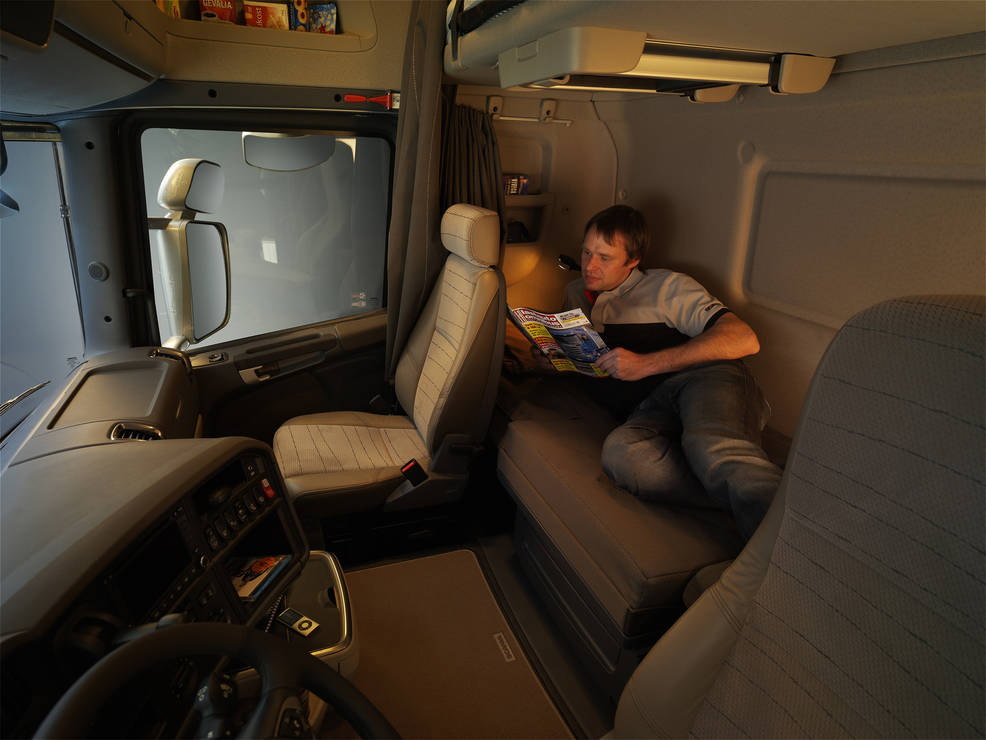 عکس داخل ماشین سنگین فاو