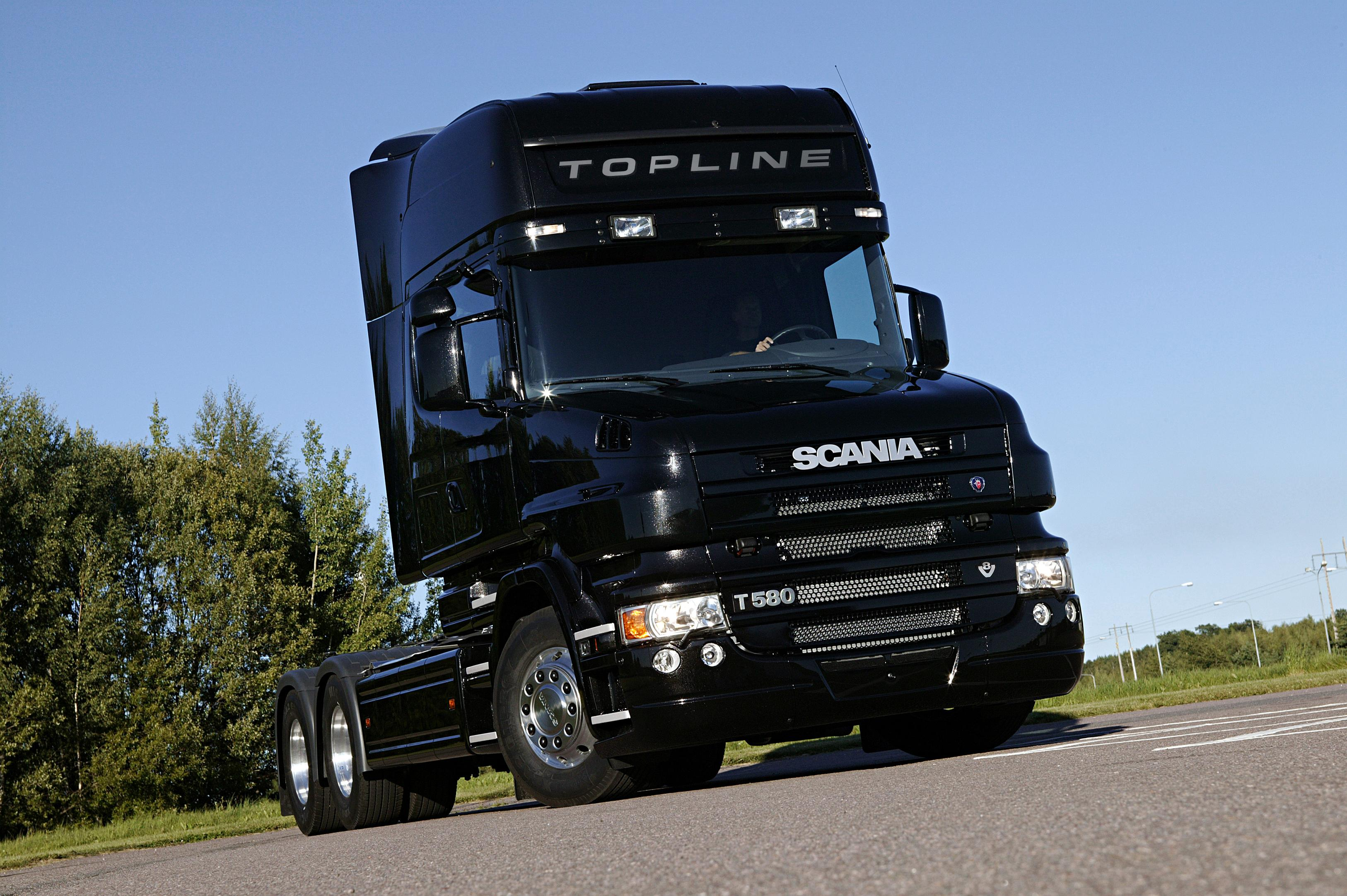 Scania T580 Topline Photos Photogallery With 1 Pics
