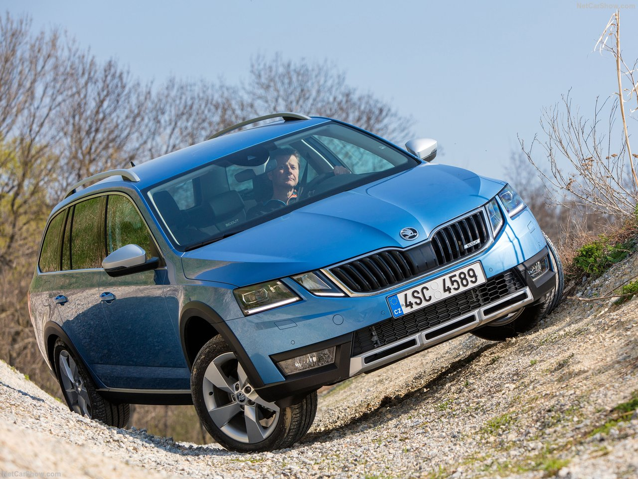 Skoda Octavia Scout photo 176651