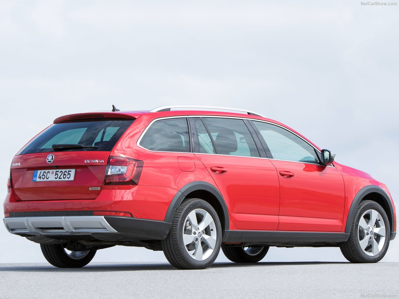 Skoda Octavia Scout photo 176654