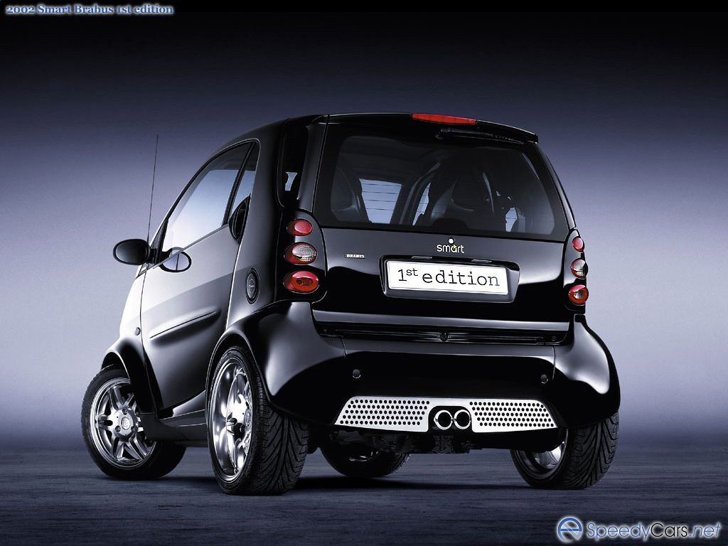 Smart Brabus 1st Edition Photos Photogallery With 4 Pics