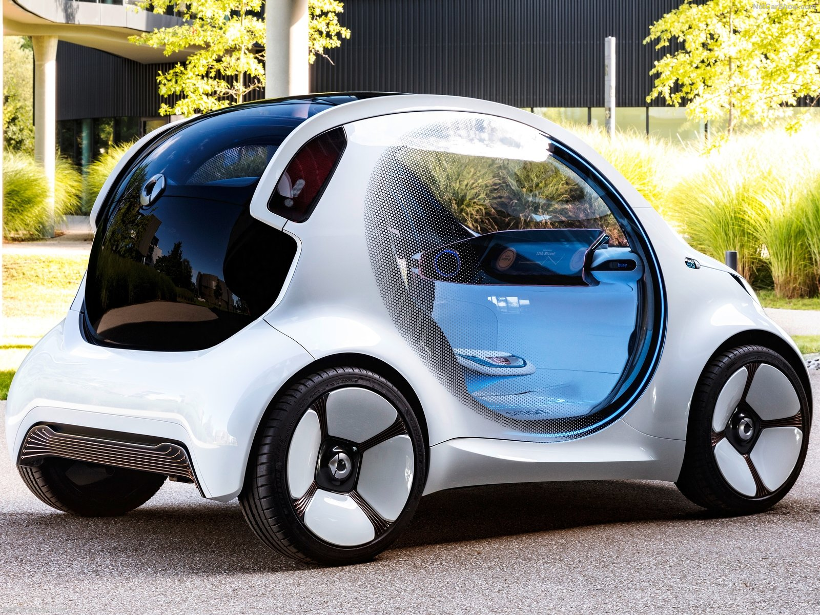 smart vision eq fortwo concept photos photogallery with. Black Bedroom Furniture Sets. Home Design Ideas