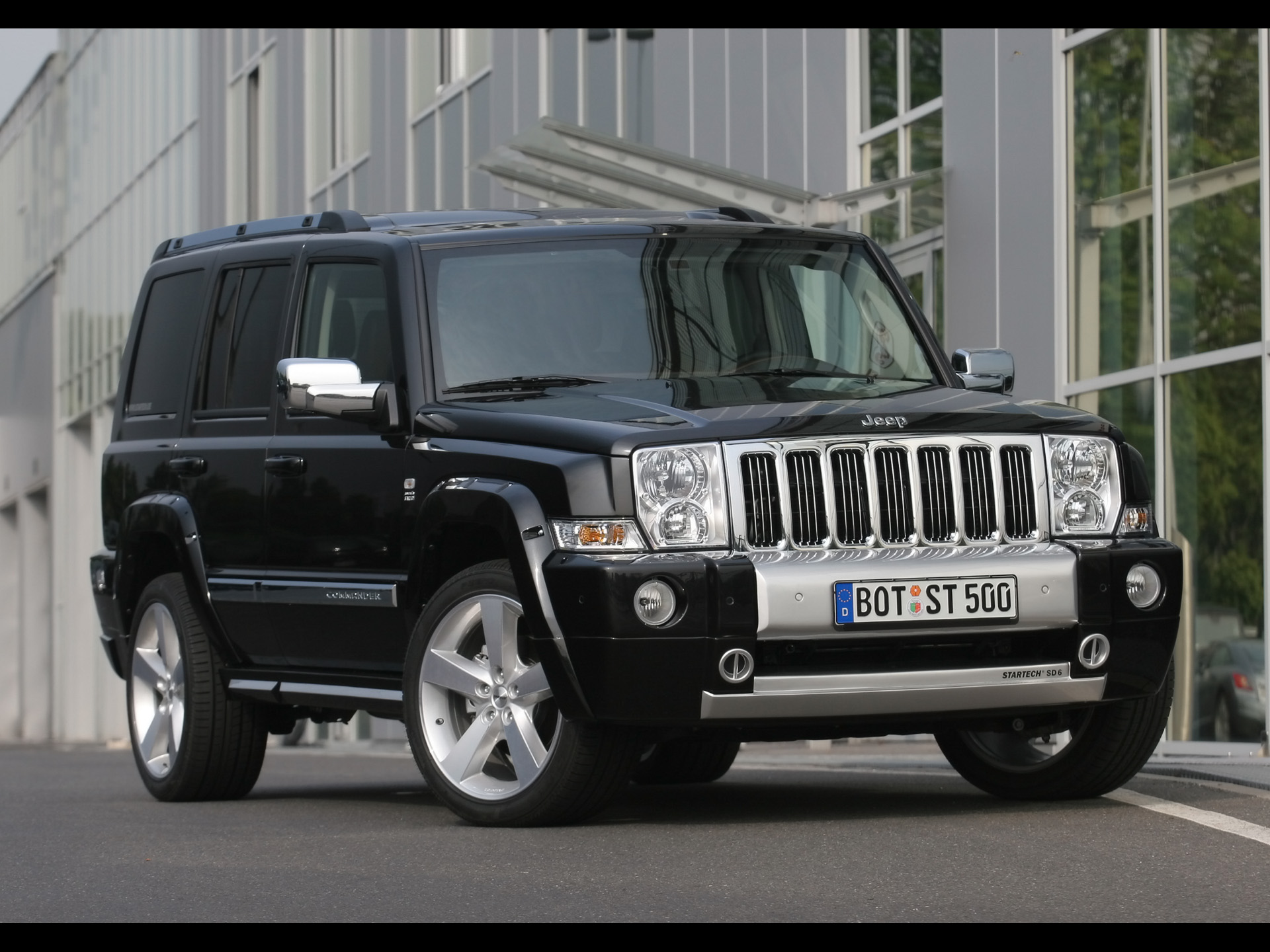 startech jeep commander photos - photogallery with 2 pics