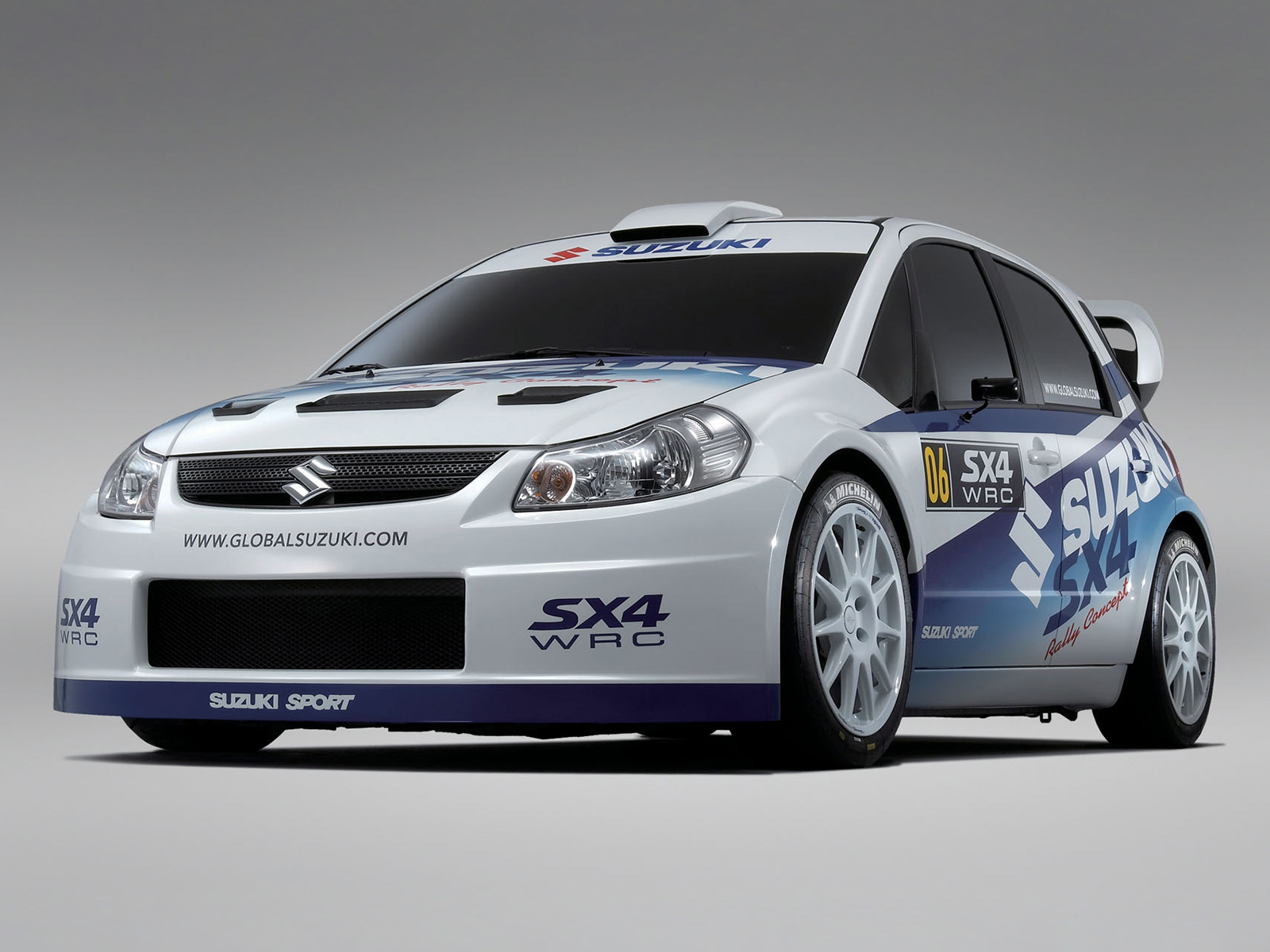 You can vote for this Suzuki SX4 WRC photo