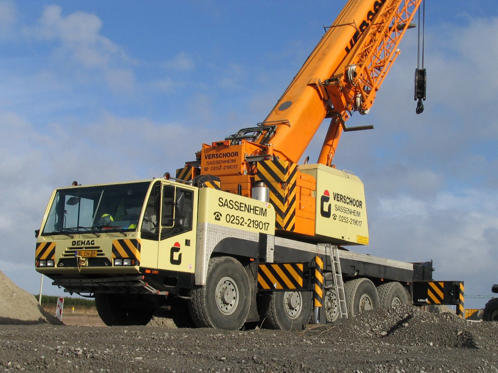 Terex Demag Ac 100 Photos Photogallery With 4 Pics