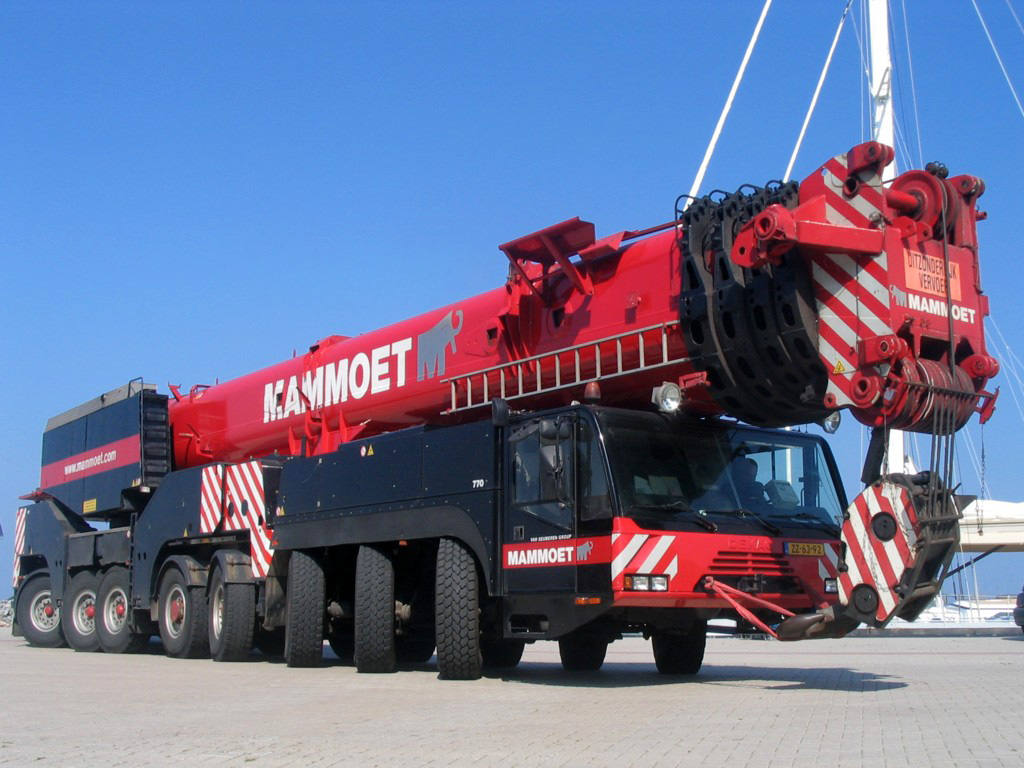 Terex Demag Ac 500 2 Photos Photogallery With 5 Pics
