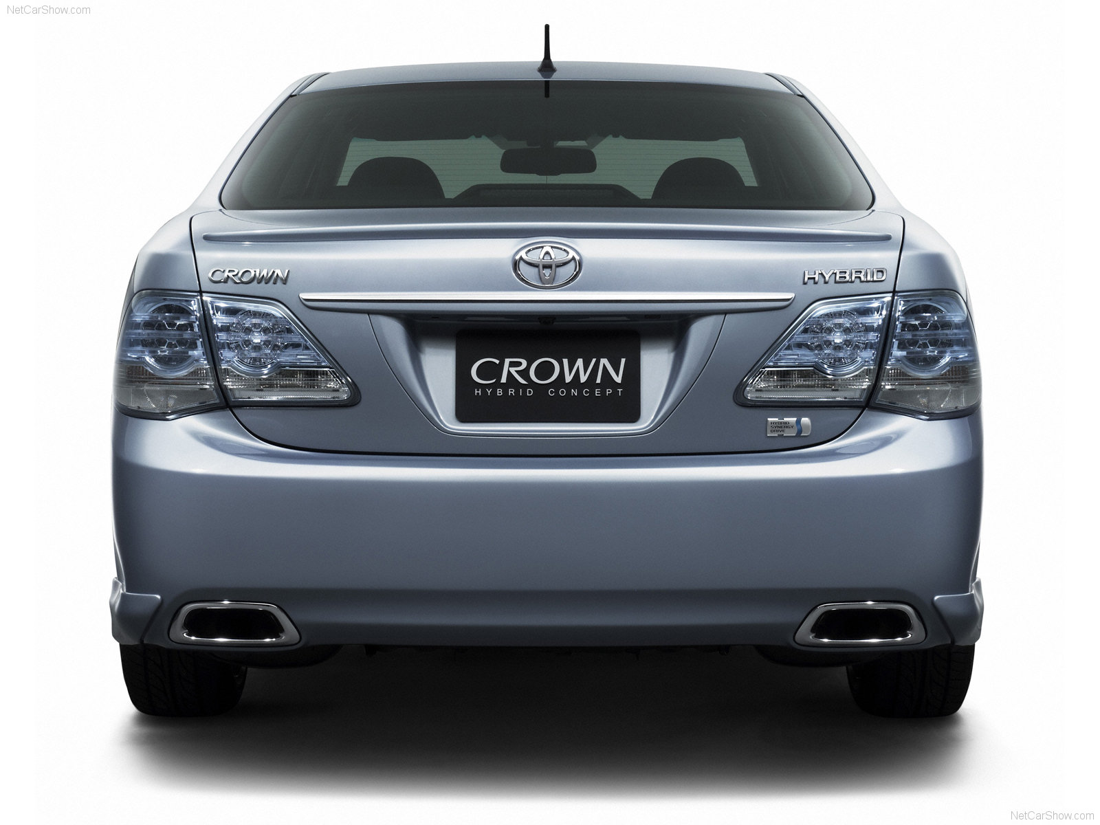 Toyota Crown Hybrid Photos Photogallery With 8 Pics